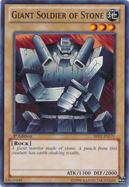 YuGiOh Battle Pack: Epic Dawn Starfoil Giant Soldier of Stone BP01-EN171