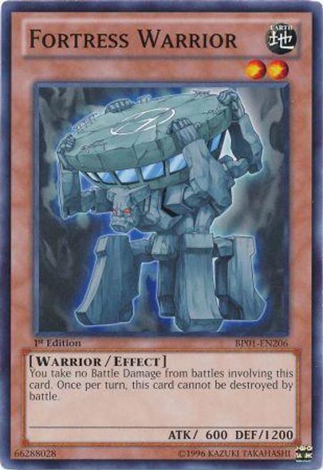 YuGiOh Battle Pack: Epic Dawn Starfoil Fortress Warrior BP01-EN206