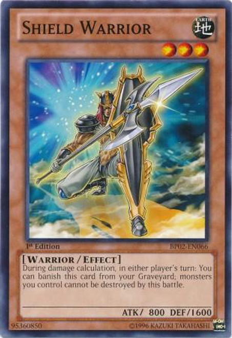YuGiOh Battle Pack 2: War of the Giants Mosaic Shield Warrior BP02-EN066