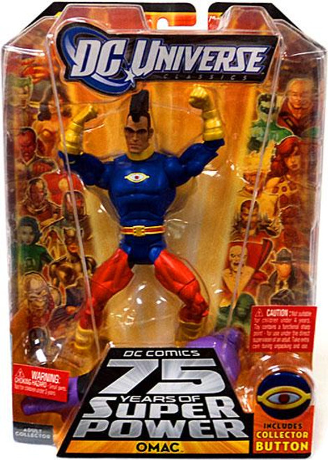 DC Universe 75 Years of Super Power Classics Validus Series OMAC Action Figure [Damaged Package]