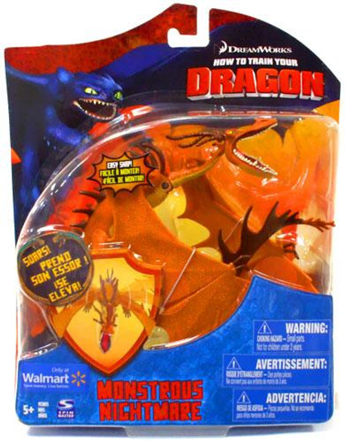 How to Train Your Dragon Series 2 Deluxe Monstrous Nightmare Exclusive Action Figure [Damaged Package]