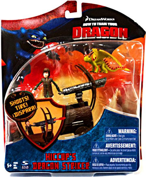 How to Train Your Dragon Series 3 Deluxe Hiccup's Dragon Striker Action Figure [Damaged Package]