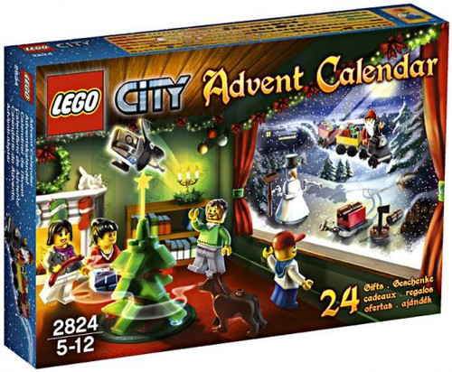 LEGO City 2010 Advent Calendar Set #2824 [Damaged Package]
