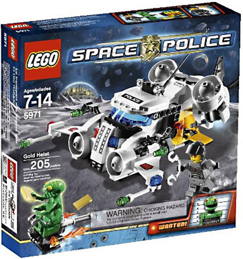 LEGO Space Police Gold Heist Set #5971 [Damaged Package]