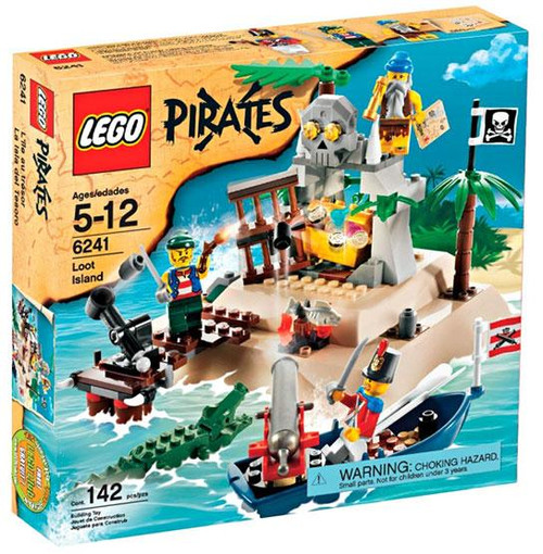 LEGO Pirates Loot Island Set #6241 [Damaged Package]