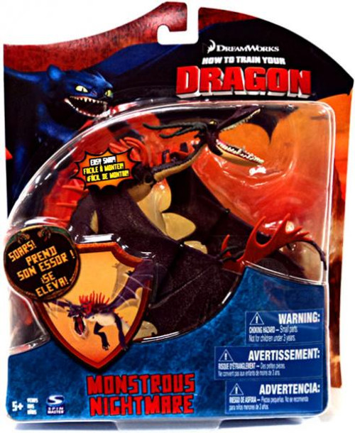 How to Train Your Dragon Series 3 Deluxe Monstrous Nightmare Action Figure [Damaged Package]