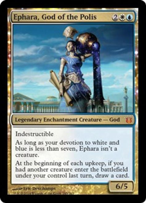 MtG Born of the Gods Mythic Rare Ephara, God of the Polis #145 [Russian]