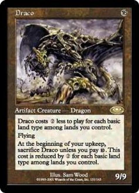 MtG Planeshift Rare Draco #131 [Played]