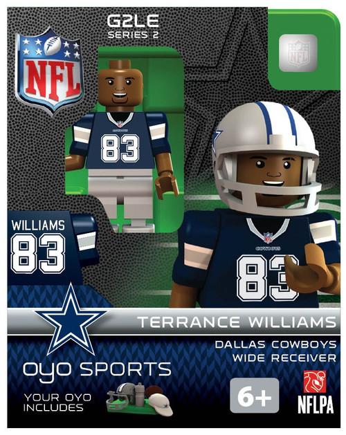 Dallas Cowboys NFL Generation 2 Series 2 Terrance Williams Minifigure