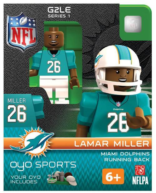 Miami Dolphins NFL Generation 2 Series 1 Lamar Miller Minifigure