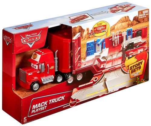 Disney / Pixar Cars Story Sets Mack Truck Playset
