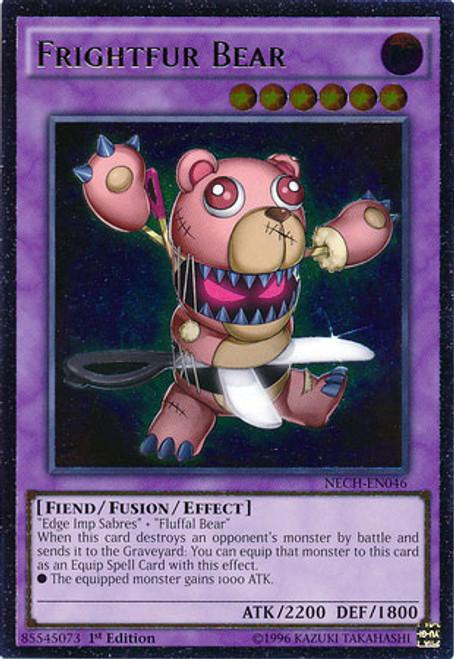 Yugioh Frightfur Bear SP15-EN031 1ST Edition Shatterfoil Rare