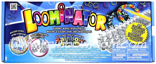 Rainbow Loom Loominator Rubber Band Crafting Kit