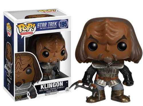 Funko Star Trek: The Next Generation POP! TV Klingon Vinyl Figure #195