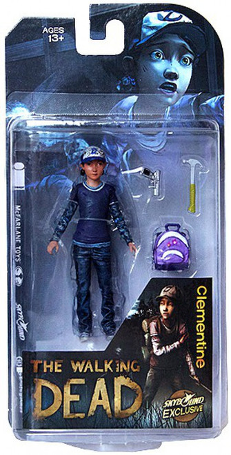 McFarlane Toys The Walking Dead Video Game Clementine Exclusive Action Figure [Clean]