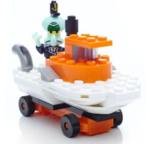 Mega Bloks Spongebob Squarepants Squidward Racer Set