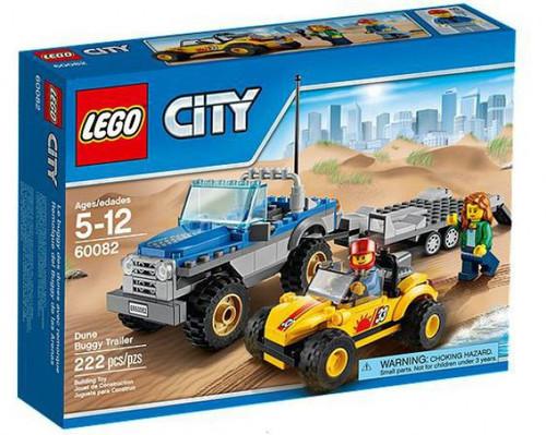LEGO City Dune Buggy Trailer Set #60082