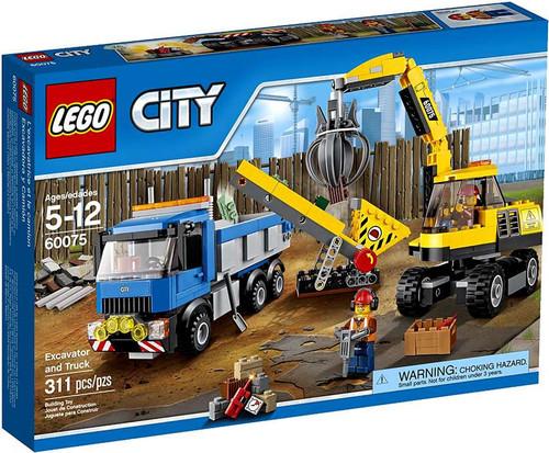 LEGO City Excavator and Truck Set #60075