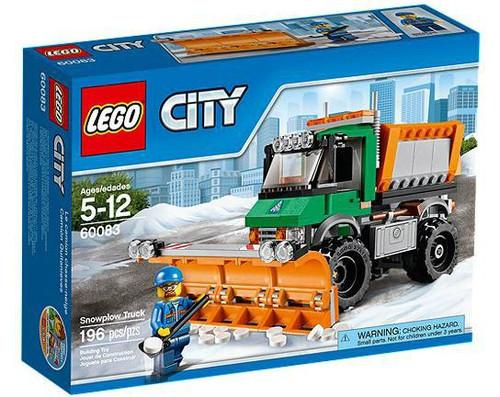 LEGO City Snowplow Truck Set #60083