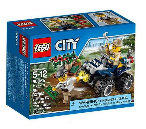 LEGO City ATV Patrol Set #60065