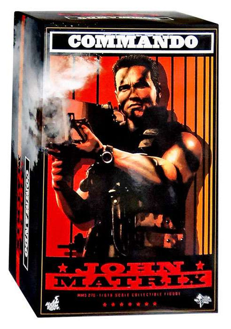 Commando Movie Masterpiece John Matrix Collectible Figure