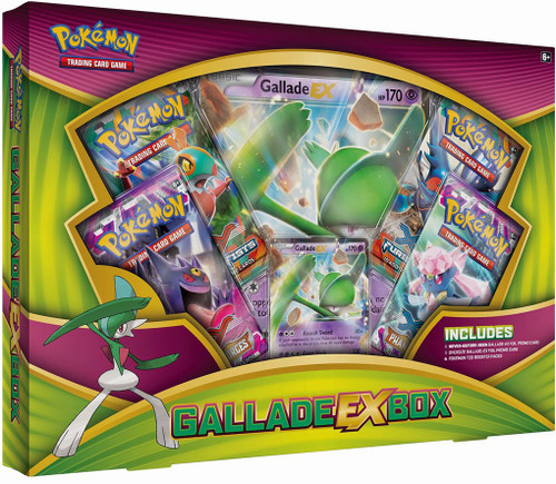 Pokemon Trading Card Game XY Gallade EX Box [4 Booster Packs, Promo Card & Oversize Card!]