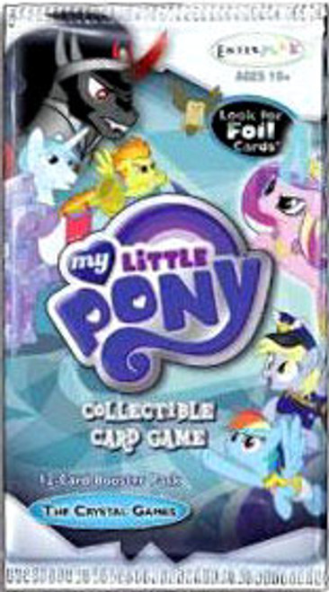 My Little Pony Friendship is Magic The Crystal Games Booster Pack [12 Cards]
