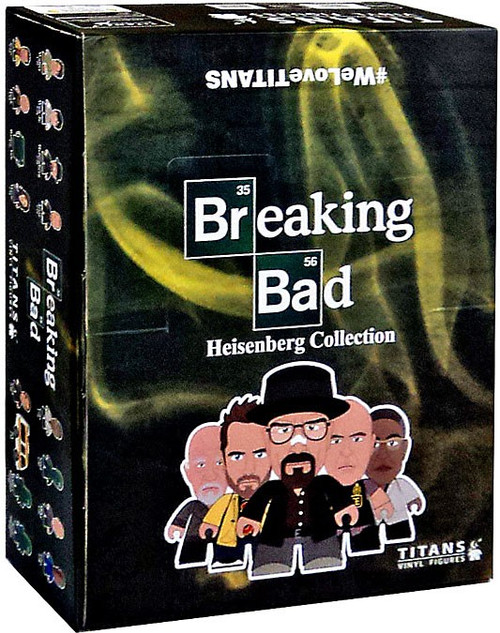 Breaking Bad Titans Vinyl Figures Heisenberg Collection Mystery Box [20 Packs]