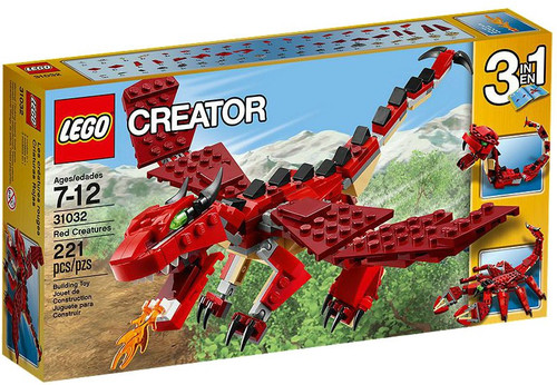 LEGO Creator Red Creatures Set #31032