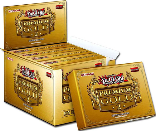YuGiOh Trading Card Game Premium Gold Return of the Bling DISPLAY Box [5 MINI Boxes (15 Booster Packs)]