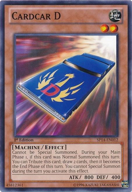 YuGiOh Trading Card Game Star Pack 2014 Starfoil Rare Cardcar D SP14-EN012