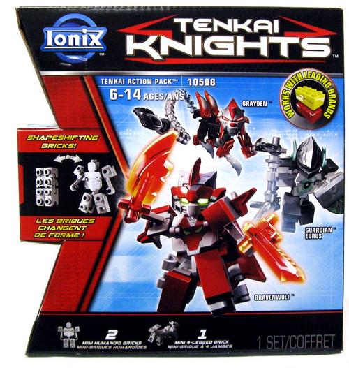 Tenkai Knights Ionix Grayden, Bravenwolf & Guardian Eurus Minifigure 3-Pack #10508