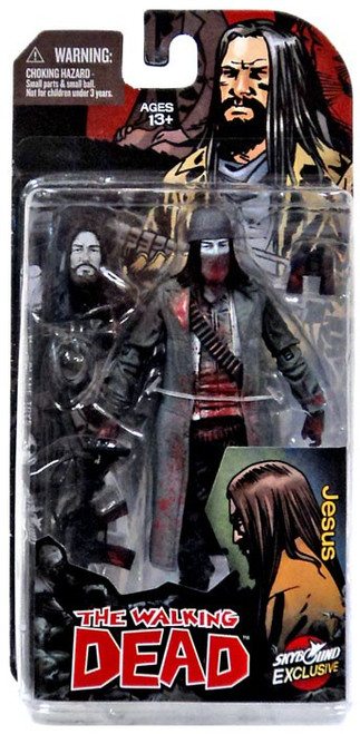 McFarlane Toys The Walking Dead Comic Jesus Exclusive Action Figure [Bloody Black & White]