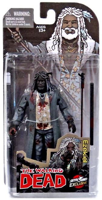 McFarlane Toys The Walking Dead Comic Ezekiel Exclusive Action Figure [Bloody Black & White]
