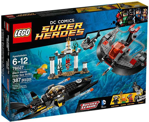 LEGO DC Super Heroes Black Manta Deep Sea Strike Set #76027