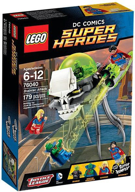 LEGO DC Super Heroes Brainiac Attack Exclusive Set #76040