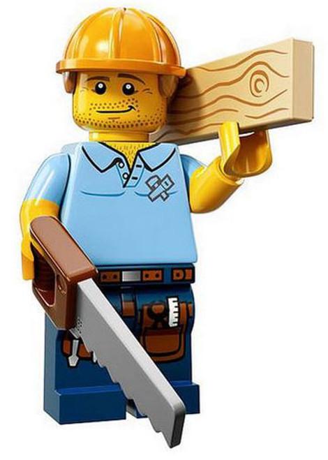 LEGO Minifigures Series 13 Carpenter Minifigure [Loose]
