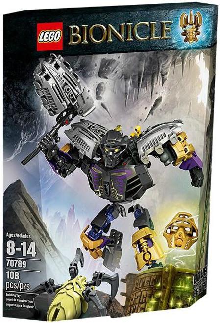 LEGO Bionicle Onua Master of Earth Set #70789