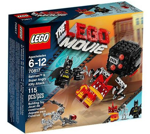 The LEGO Movie Batman & Super Angry Kitty Attack Set #70817