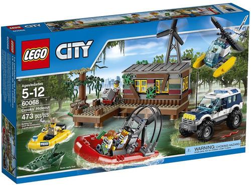 LEGO City Crooks' Hideout Set #60068