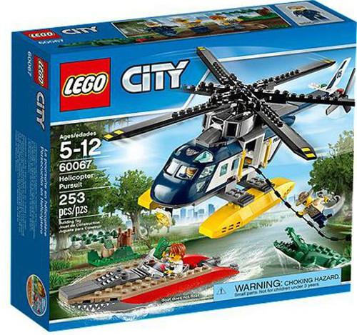 LEGO City Helicopter Pursuit Set #60067
