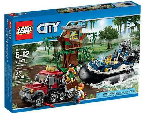 LEGO City Hovercraft Arrest Set #60071
