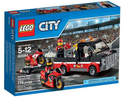 LEGO City Racing Bike Transporter Set #60084