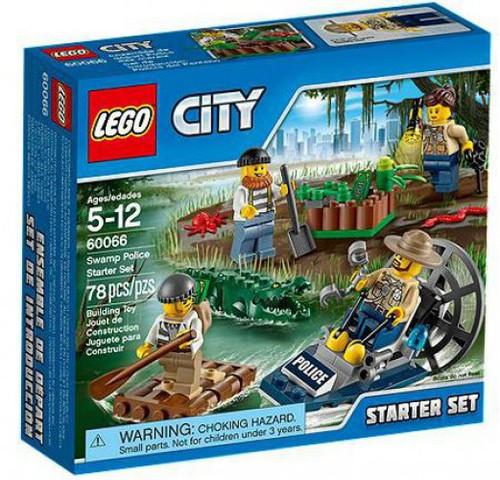 LEGO City Swamp Police Starter Set #60066