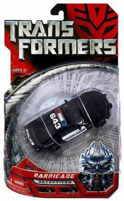 Transformers Movie Barricade Deluxe Action Figure [Damaged Package]