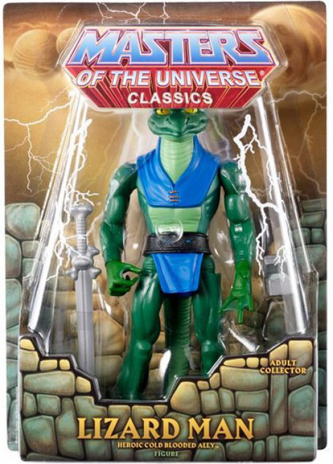 Masters of the Universe Classics Club Eternia Lizard Man Exclusive Action Figure
