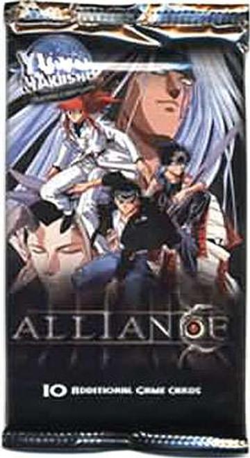 Yu Yu Hakusho Trading Card Game Alliance Booster Pack