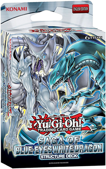 YuGiOh Trading Card Game Saga of Blue-Eyes White Dragon (Unlimited) Structure Deck