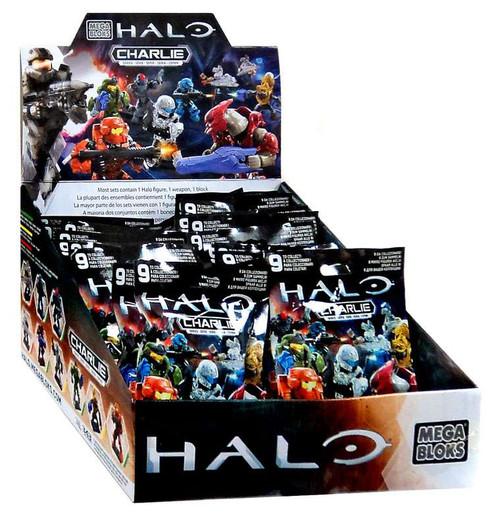 Mega Bloks Halo Charlie Mystery Box [24 Packs]