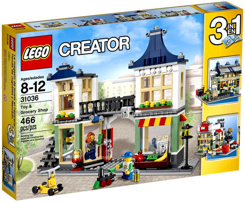 LEGO Creator Toy & Grocery Shop Set #31036